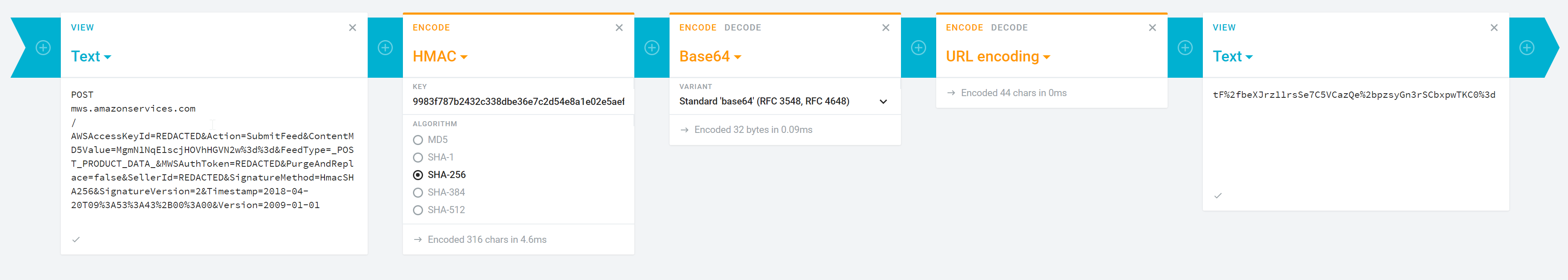Feature Request] Please provide a way to use HMAC in the