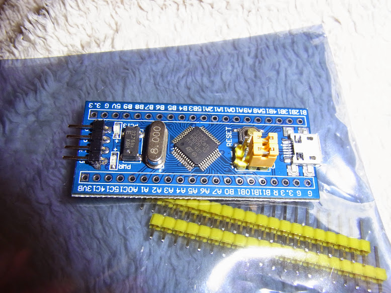 Programming an STM32F103XXX with a generic