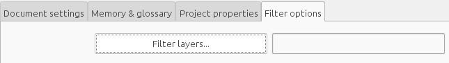 AutoCAD file filter options