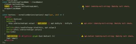 Display all errors inline, between the code, using phantoms