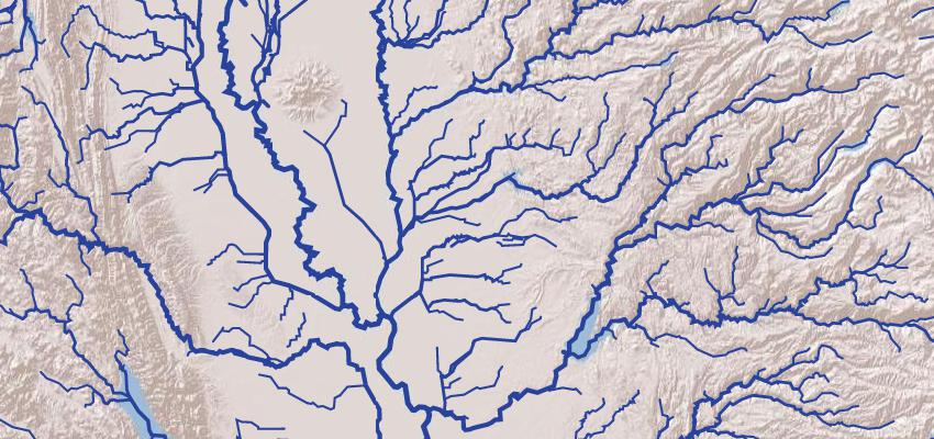 GitHub NelsonMinarvectorrivermap Tutorial Project - Map of all us rivers