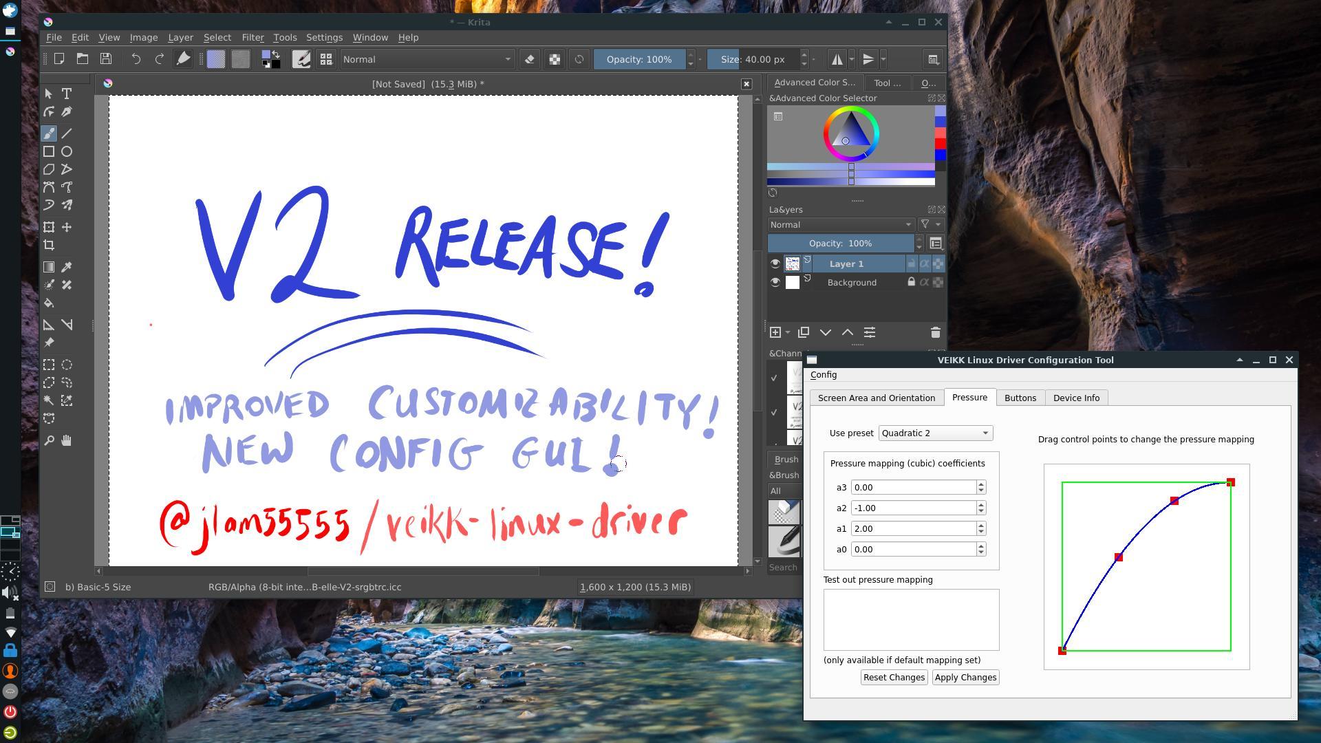 image highlighting the v2 release