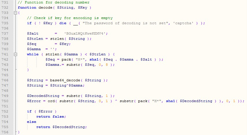 Decode function 2