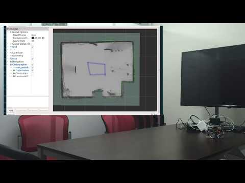 ROS 2 Cartographer SLAM with RasPi Mouse and RPLiDAR A1M8
