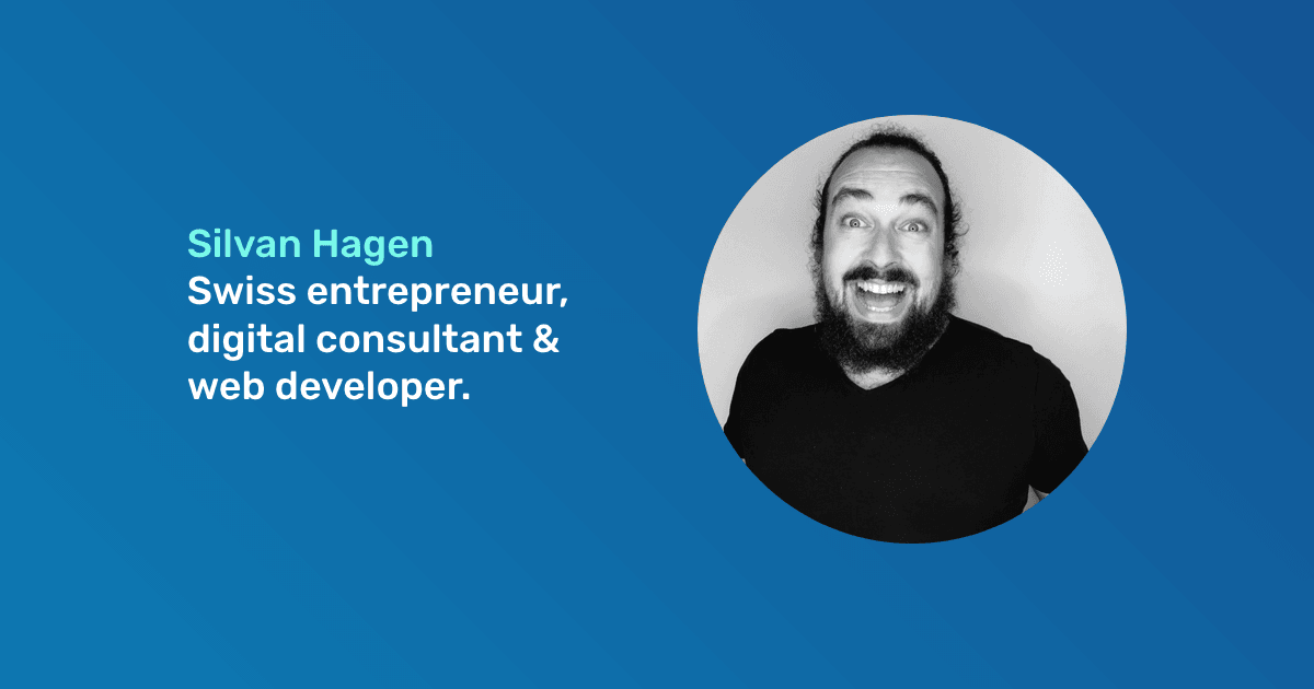 Silvan Hagen is a Digital Consultant & Web Developer.