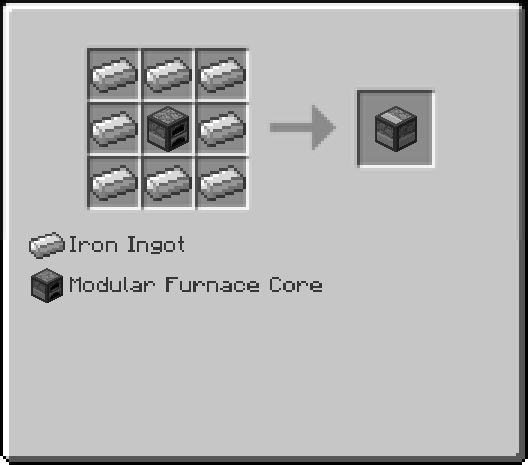 Furnace Addition Recipe