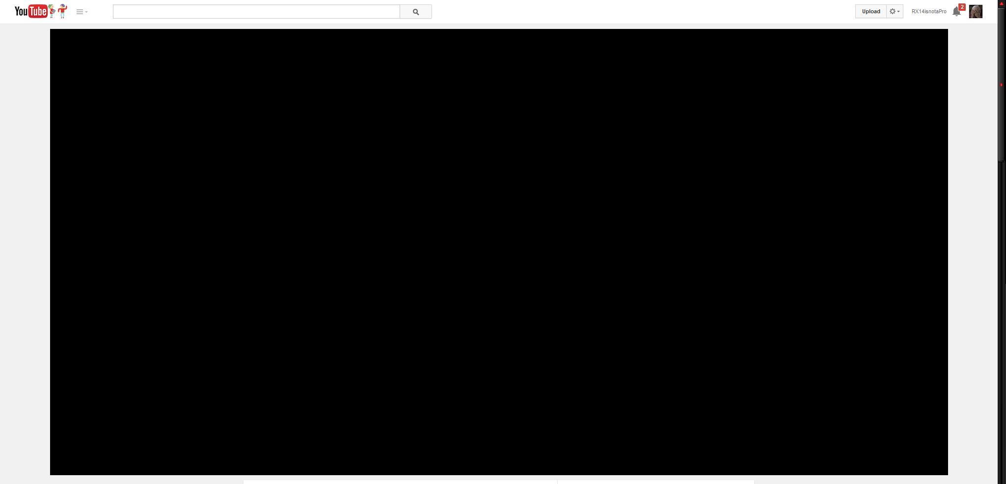 black screen videos firefox