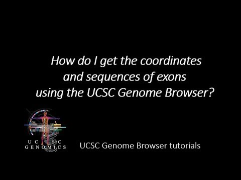 Exome bed file explanatory video