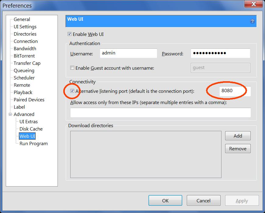 utorrent 2.2.1 port is not open