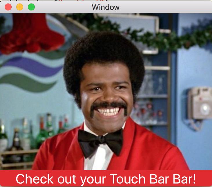 TouchBarBar Screenshot