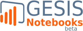 GESIS Notebooks