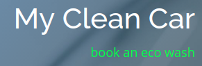 My Clean Car logo
