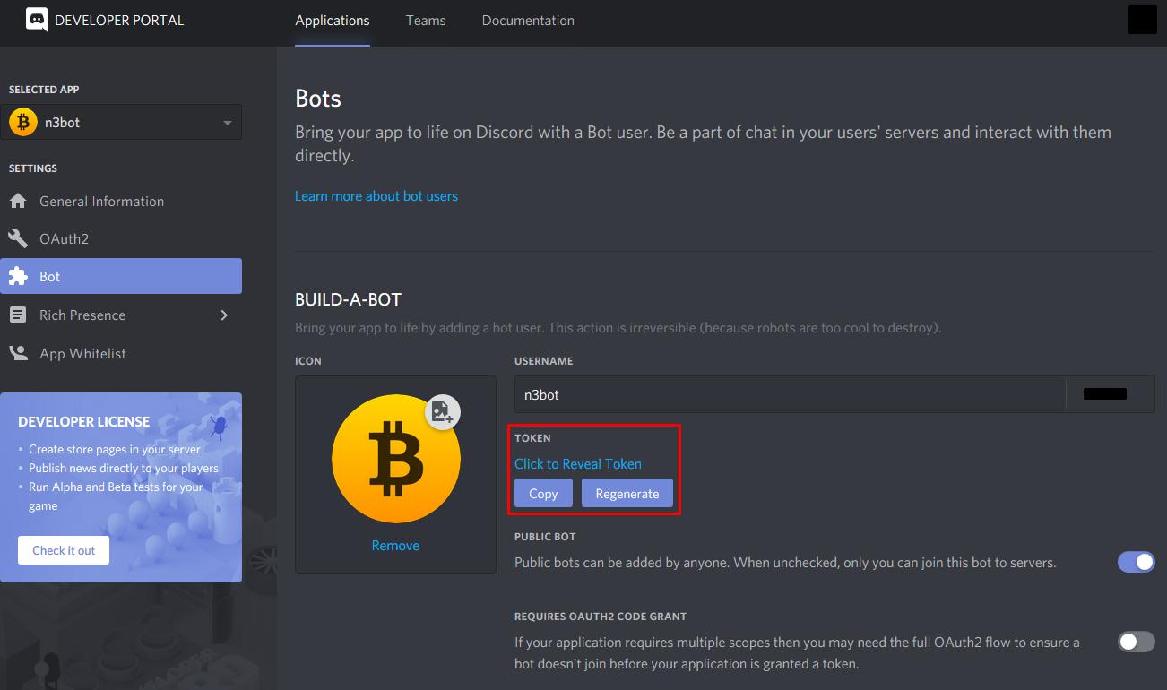 crypto discord bot)