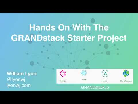 Hands On With The GRANDstack Starter