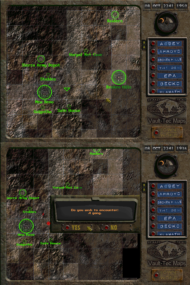 Ugly MS-DOS font on Fallout 2 worldmap · Issue #48 ...