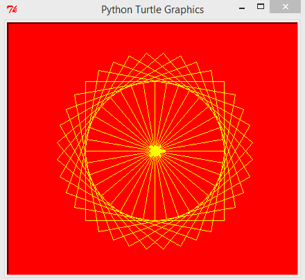 Udacity – Programming Fundamentals with Python – turtle