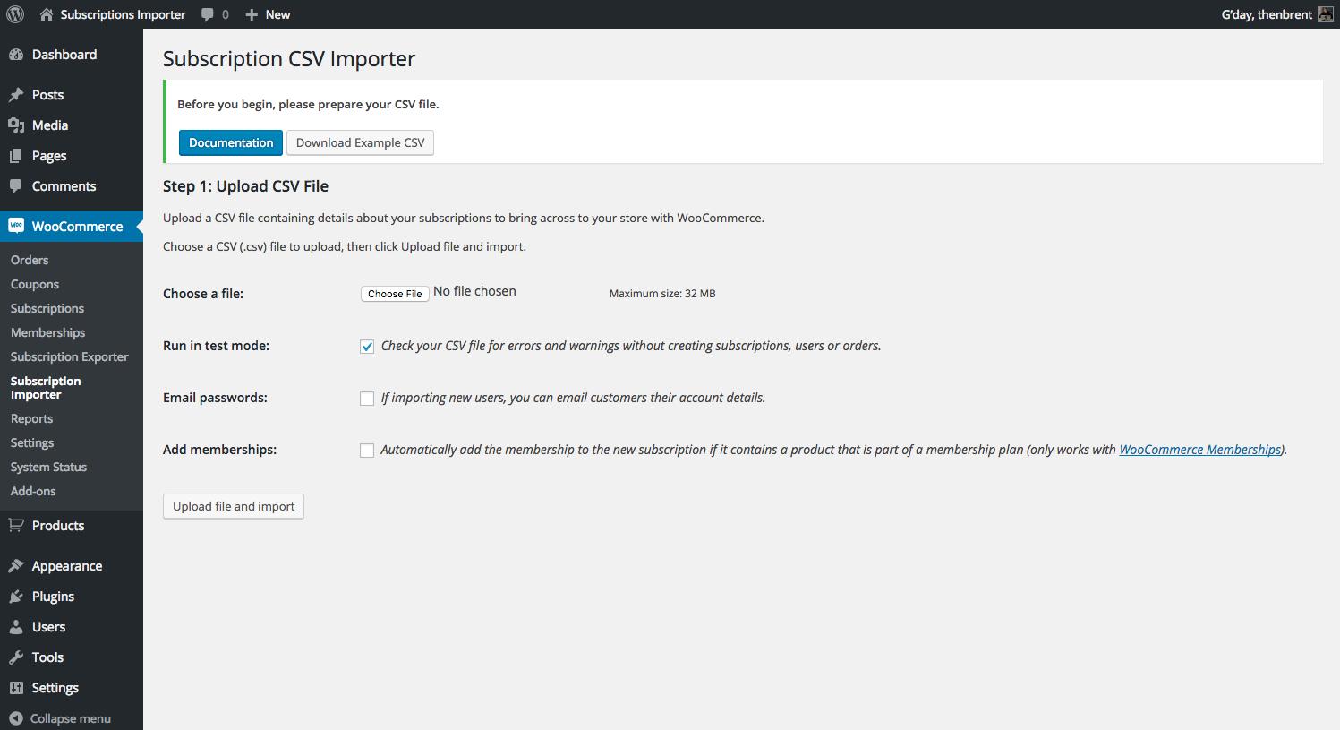 GitHub - Prospress/woocommerce-subscriptions-importer