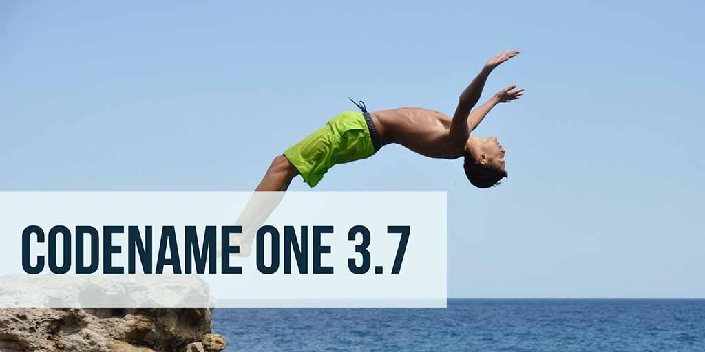 Codename One 3.7 Heading