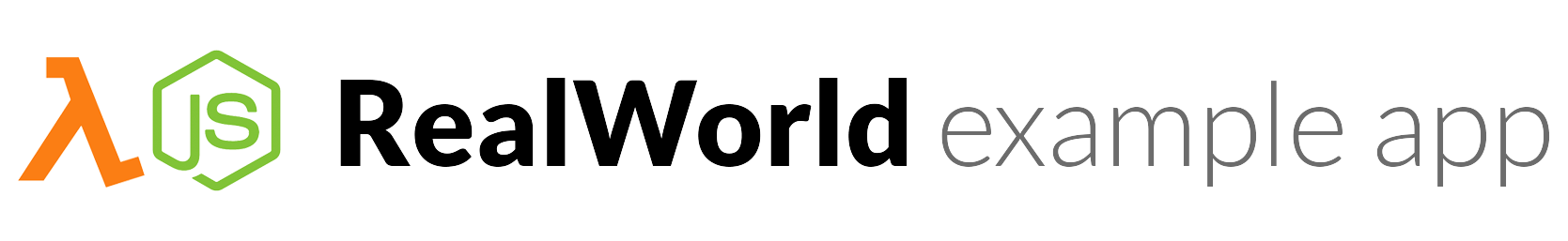 RealWorld Example App
