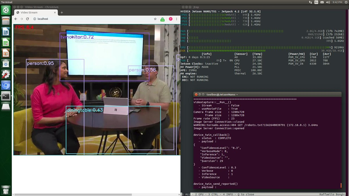 Intelligent Edge Hands-On-Lab : Detect objects in YouTube videos