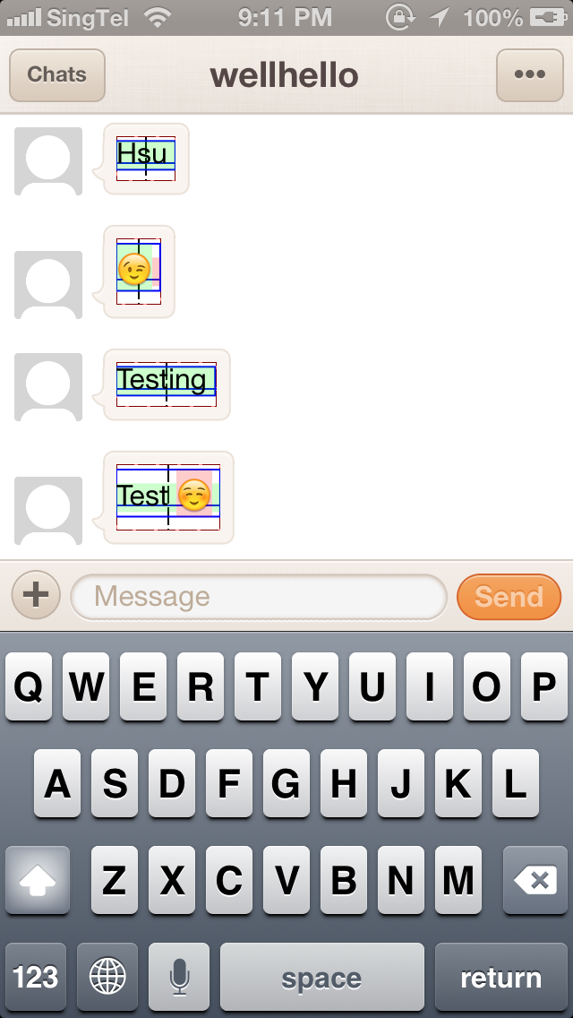 Weird intrinsicContentFrame height for Text with Emoji · Issue #379