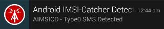 SilentSMS-Notification