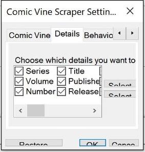 Running in a High DPI Environment · cbanack/comic-vine