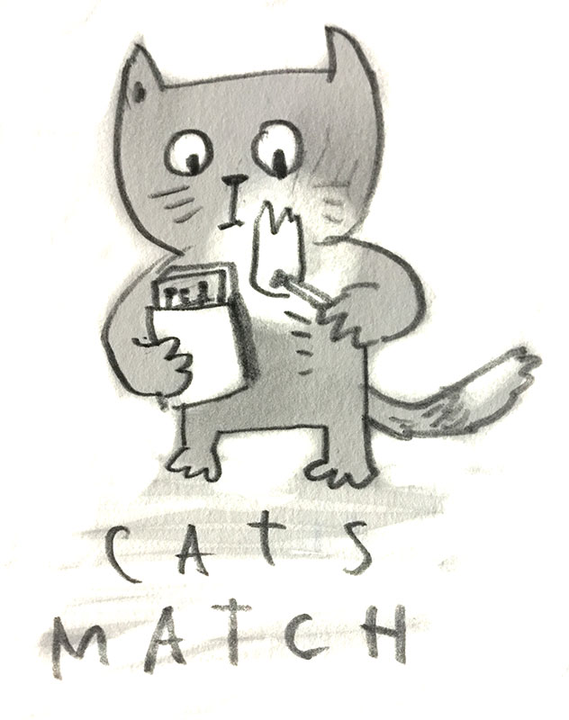 cats.match