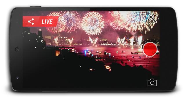 Kickflip live broadcast screenshot