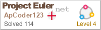 Project Euler Counter