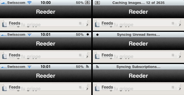 Reeder Status Bar on Flickr