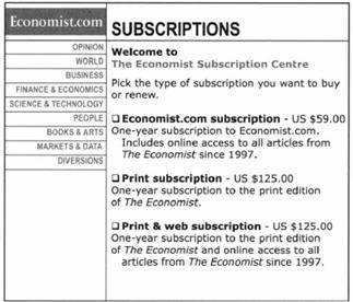 Economist Phantom Pricing