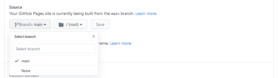 How to create GitHub page