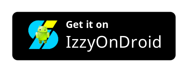 Get it on IzzyOnDroid