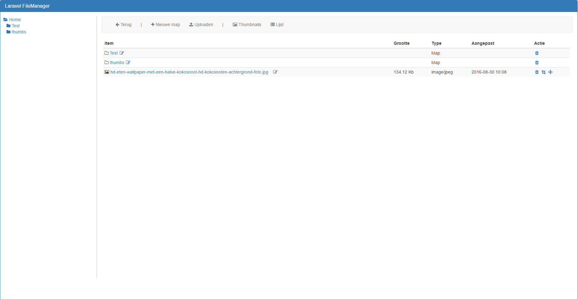 FileManager screenshot 1