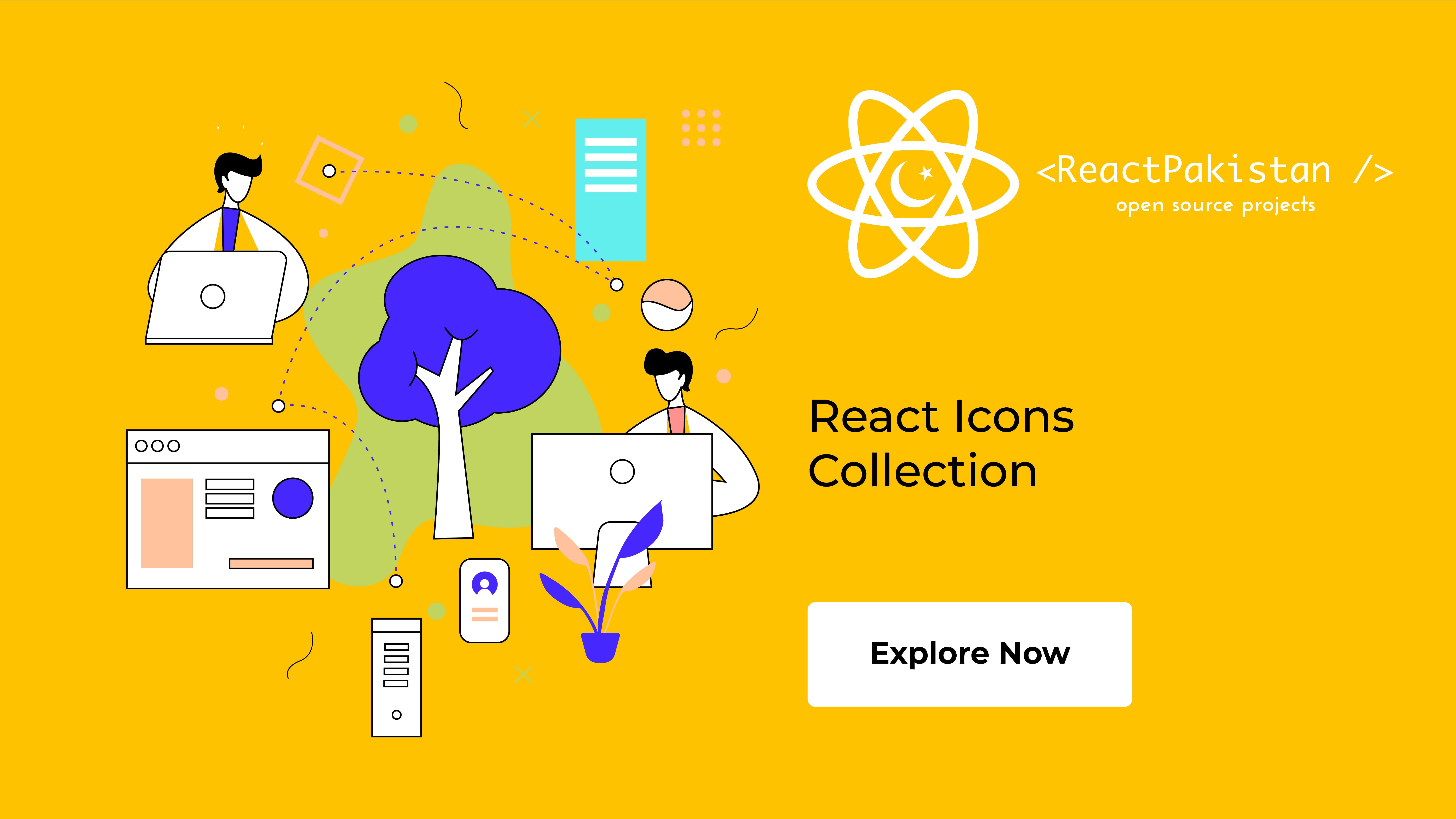 React Pakistan - React Icon Collection