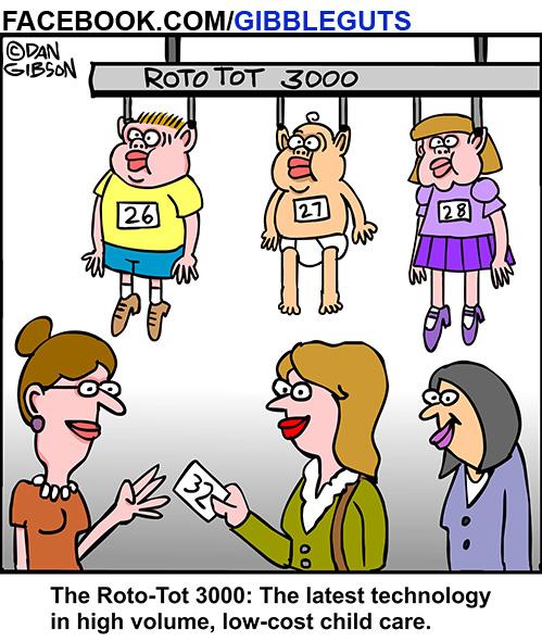 Daycare Cartoon