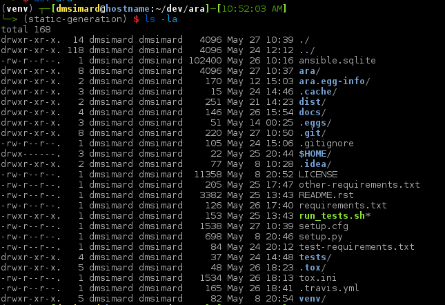 Ansible will create a literal $HOME directory if the