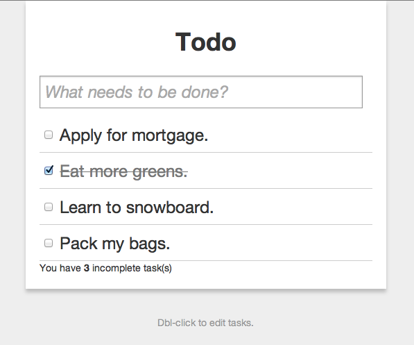Get your Todo on
