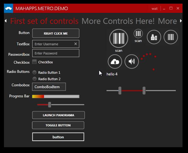 controls inside MetroContentControl not inheriting styles · Issue