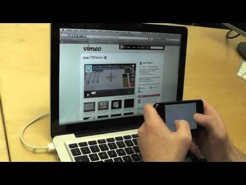 TuioPad video