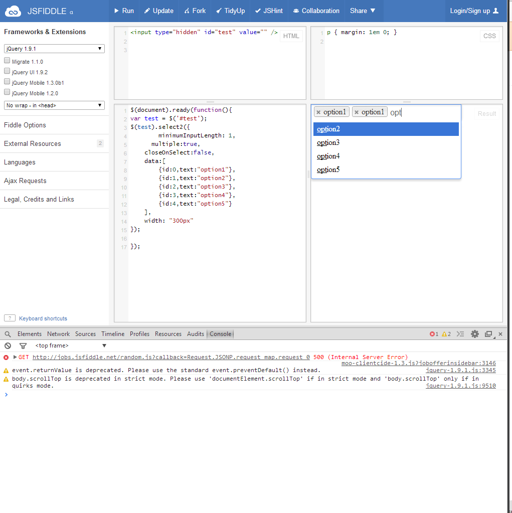 Close on select issue · Issue #2101 · select2/select2 · GitHub