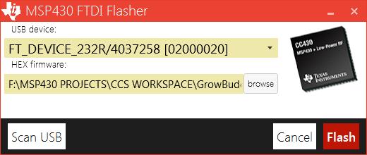 GitHub - parezj/BSL430 NET: Texas Instrument MSP430 USB/UART