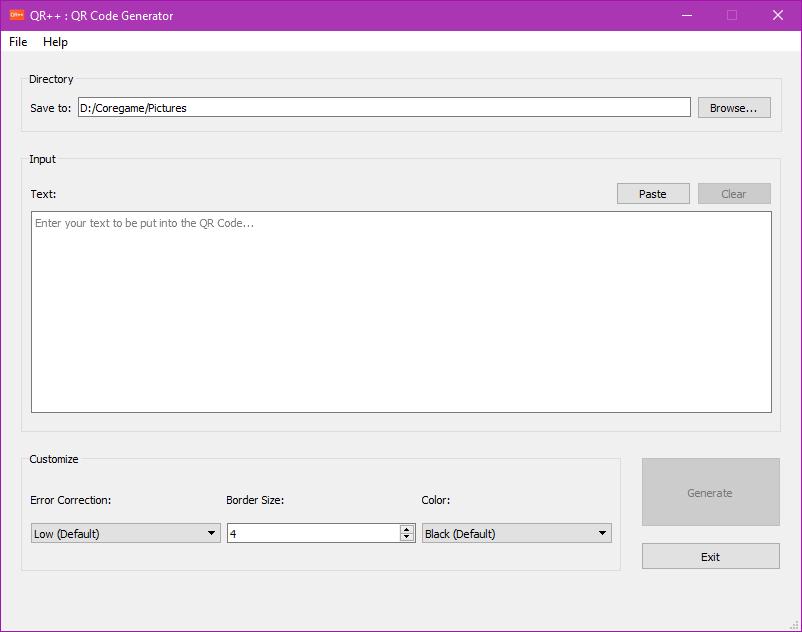 GitHub - coregameHD/QRplusplus: C++ QR Code Generator with Qt GUI