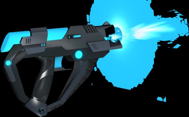 A-Blast で使用するブラスター