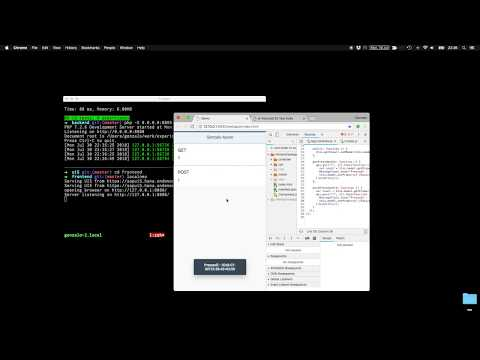 Working with SAPUI5 locally (with PHP/Lumen Backend) and deploying to SCP