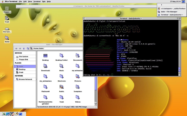 GitHub - grassmunk/Platinum9: Mac OS 9 Theme for Xubuntu