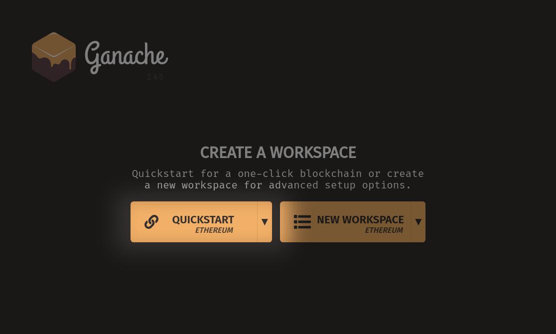 Quickstart Button