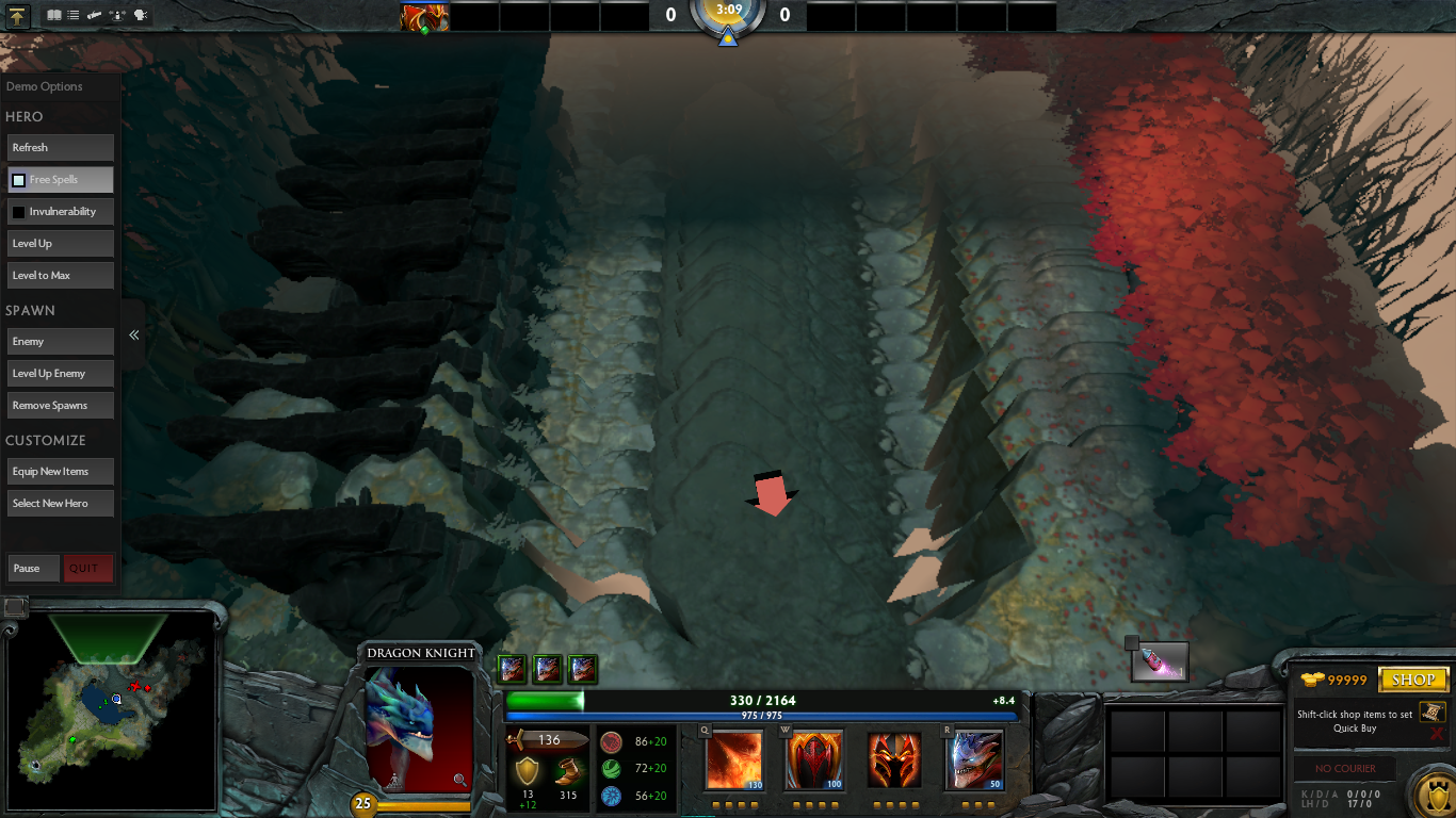 linux graphics glitch on map edge in hero demo issue 40