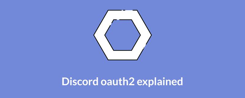 GitHub - orels1/discord-token-generator: An example discord oauth2